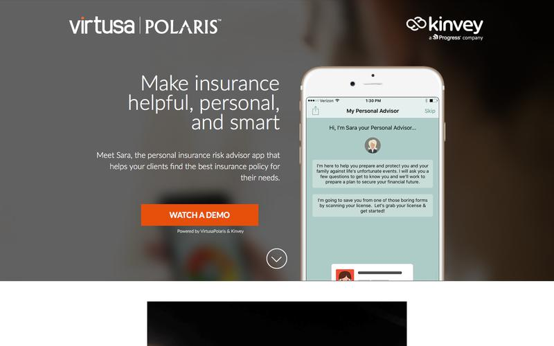 Insurance Risk Advisor App | Mobile Cloud Backend as a Service | Kinvey