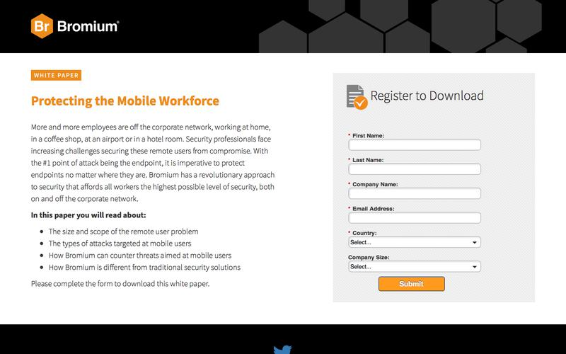 Bromium: White Paper - Protecting the Mobile Workforce