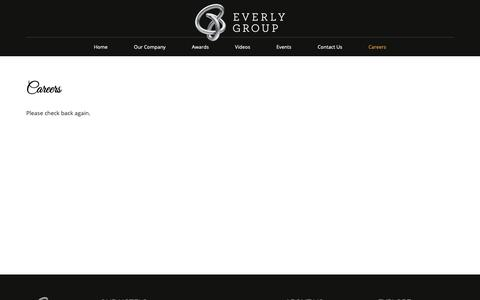 Screenshot of Jobs Page teg-hotels.com - Careers Malaysia   Hotel Job Vacancy in Malaysia - Everly Group - captured Sept. 29, 2018