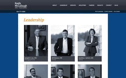 Screenshot of Team Page kmccpa.com - KMC Accounting - captured Oct. 3, 2014