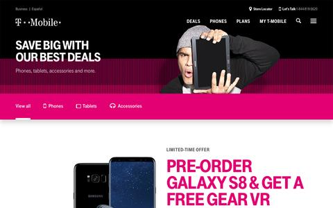 Cell Phone Deals Hub | Deals On Phones, Accessories & More | T-Mobile