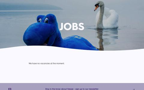 Screenshot of Jobs Page jacobite.co.uk - Jobs | Loch Ness By Jacobite - captured Oct. 13, 2018