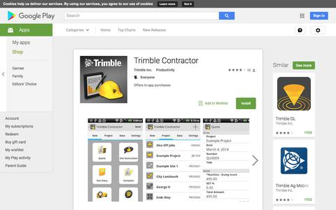 Trimble Contractor - Android Apps on Google Play