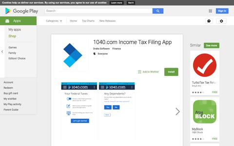 1040.com Income Tax Filing App - Android Apps on Google Play