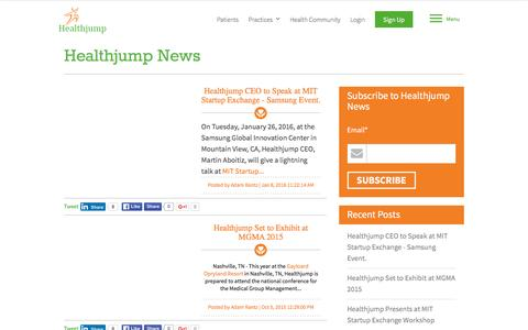 Healthjump News