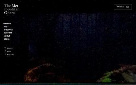 Screenshot of Trial Page metopera.org - Metropolitan Opera | Learn More - captured Jan. 15, 2016
