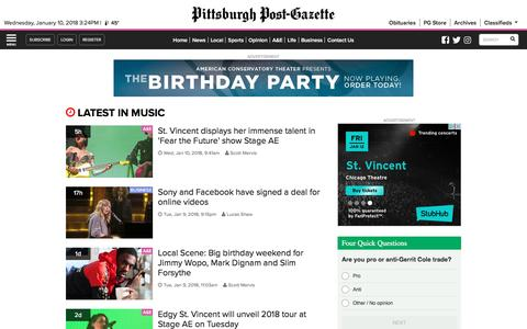 Music | Post-Gazette