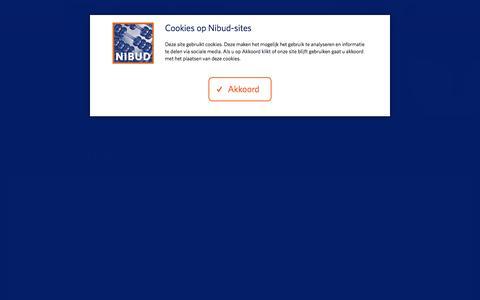 Screenshot of Contact Page nibud.nl - Contact - Nibud - Nationaal Instituut voor Budgetvoorlichting - captured Dec. 26, 2017