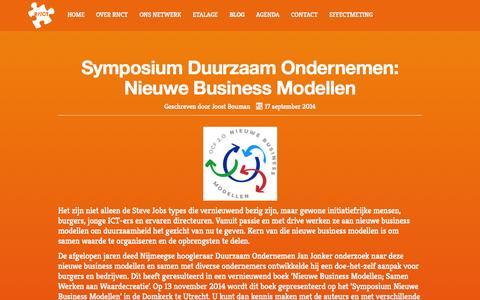 Screenshot of Blog rnct.nl - Blog - RNCT - captured Oct. 7, 2014