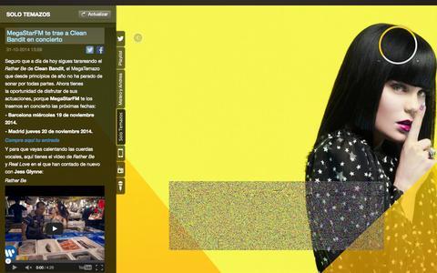 Screenshot of Terms Page megastar.fm - MegaStarFM - captured Nov. 3, 2014