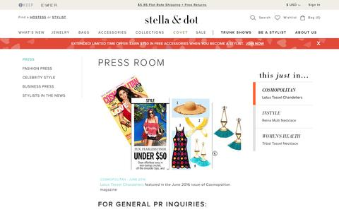 Press | Stella & Dot