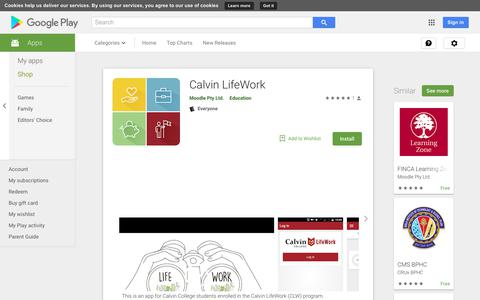 Calvin LifeWork - Apps on Google Play