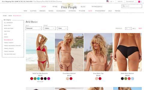 Bold Basics - Swimwear | Free People