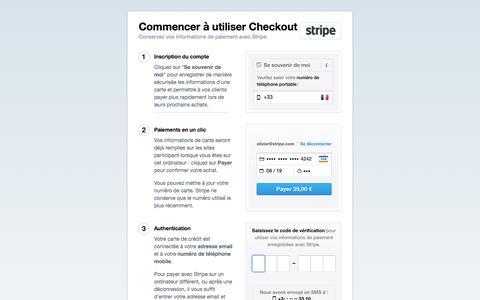 Stripe Checkout : plus d'Informations