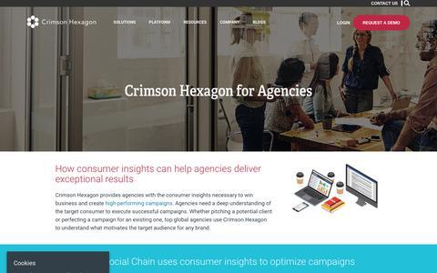 Agencies – Crimson Hexagon