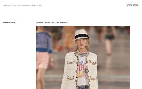 Screenshot of Home Page unite-unite.com - unite unite - captured May 18, 2016