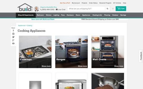 Cooking Appliances @ Build.com