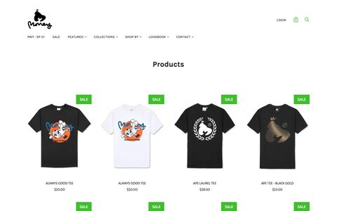 Products — MONEY
