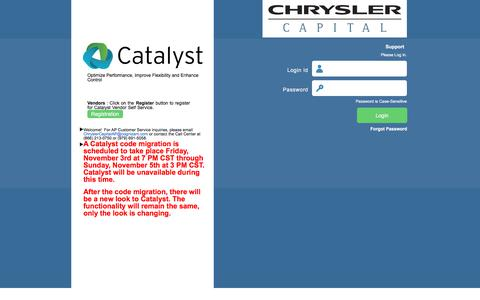 Login Catalyst