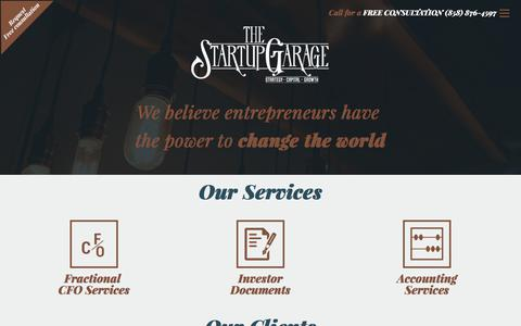 Startup Business Plans & Consulting | The Startup Garage