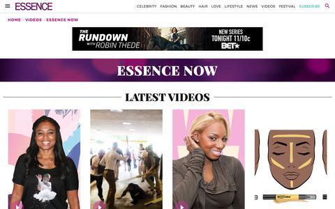 Essence Now | Essence.com