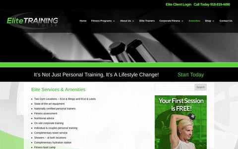 Elite Training Tulsa | Elite Personal Training - Tulsa OK | Elite Training