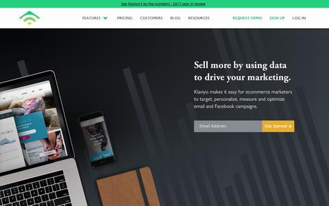 Klaviyo - Deliver Smarter Marketing