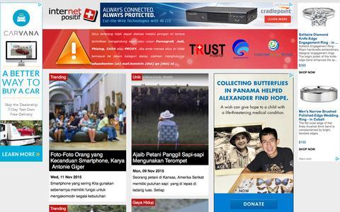 Screenshot of Home Page internet-positif.org - Internet Positif - captured Nov. 11, 2015