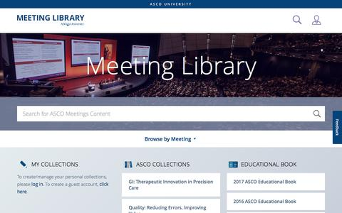 Meeting Library | Home