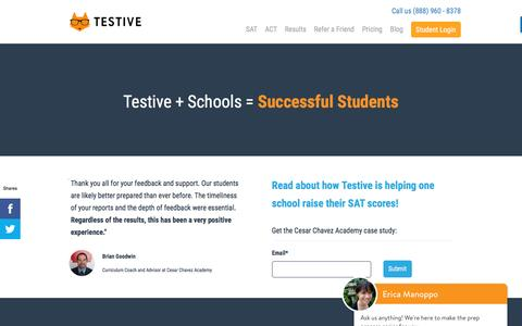 School Partnerships: How We Provide Test Prep in the Classroom | Testive
