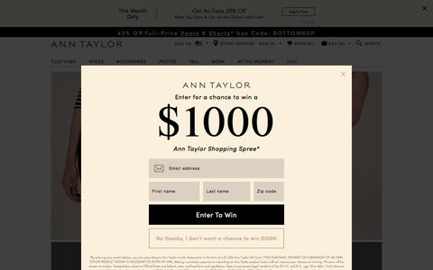 Denim Fit Guide : ANN TAYLOR