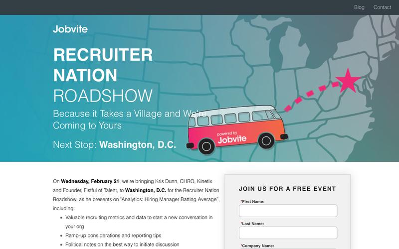 Recruiter Nation Breakfast | Washington, D.C.