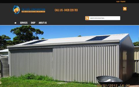 Screenshot of Home Page tmsteel.com.au - Tm Steels - captured Jan. 26, 2015