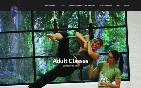 Philadelphia School of Circus Arts |  » Adult Class Calendar