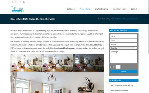 Real Estate HDR Image Blending Service