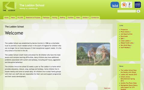 Screenshot of Home Page loddonschool.info - The Loddon School | Pathway to a fulfilling life - captured Oct. 6, 2014