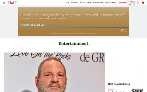 Entertainment | Time