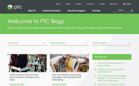Blogs | PTC