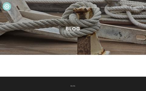 Screenshot of Press Page harborsocial.com - Blog — Harbor Social - captured May 15, 2017