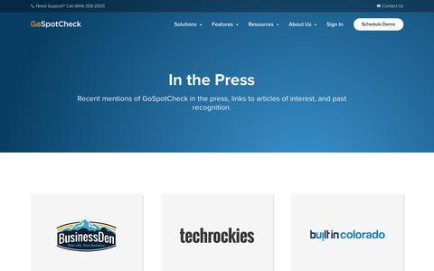 Press | GoSpotCheck