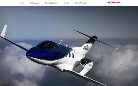 Screenshot of Home Page honda.com.au - Honda Home - Honda Australia - captured Oct. 1, 2015