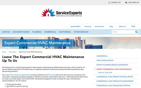Expert Commercial HVAC Maintenance in North America | Service Experts