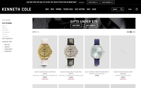 Gifts Under $75 | Kenneth Cole