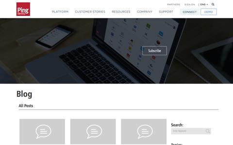 Identity Management Blog | Ping Identity
