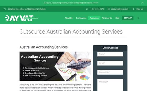 Outsource Australian Accounting Services