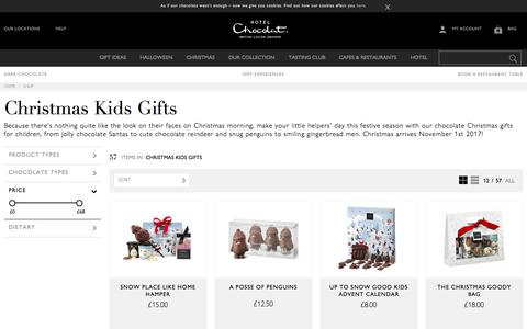 Chocolate Christmas Gifts for Kids by Hotel Chocolat