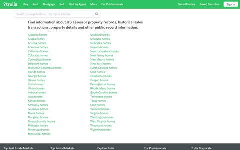 USA home and property info