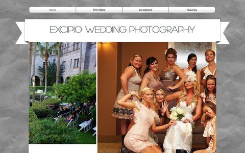 Screenshot of Home Page ancientcityweddingphotographer.com - The Ancient City Wedding Photographer - captured Jan. 27, 2015