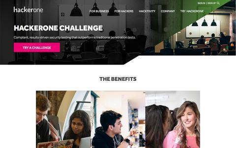 Challenge | HackerOne