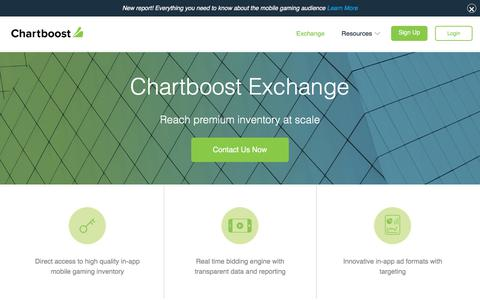 Chartboost Ad Exchange | Chartboost